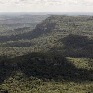 Ilmakuva Chiribiqueten kansallispuiston alueesta Kolumbiassa 2. heinäkuuta 2018.