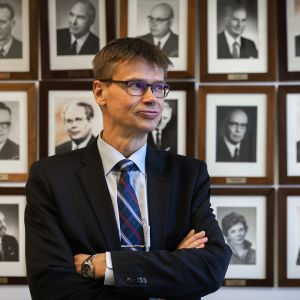 Korkeimman hallinto-oikeuden presidentti Kari Kuusiniemi.