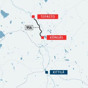 Tepasto-Köngäs tie Kittilä