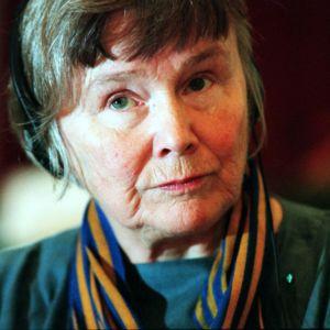 Lisbet Palme vuonna 1999.