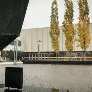 Tampereen yliopiston piha