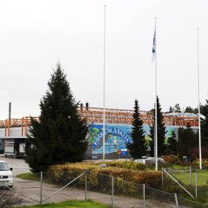 Valion tehdas Vantaalla 20. lokakuuta