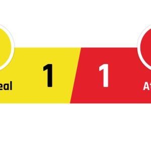 Villareal - Atlético Madrid 1-1
