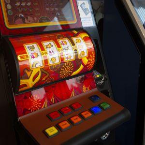 Veikkauksen peliautomaatti.