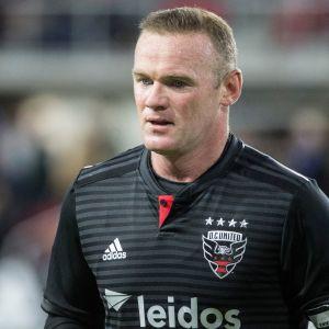 Wayne Rooney DC Unitedin paidassa.