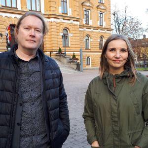 Botnia-voittajat 2018 Vesa Ranta ja Jenni Räinä.