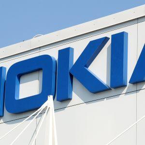 Nokian logo.