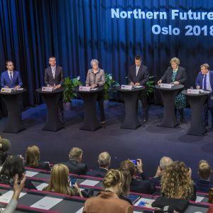 Pääministerit koolla Oslossa