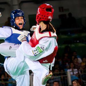 Huutaminen kuuluu oleellisesti taekwondoon