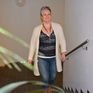 Eveliina Honkaharju käveli joka aamu työpaikalleen kuudenteen kerrokseen sykemittarin kanssa.