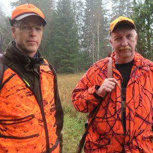 Hannu Saarikoski ja Risto Rantanen