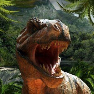 T. rex kita ammollaan lehtevässä liitukautisessa metsässä.