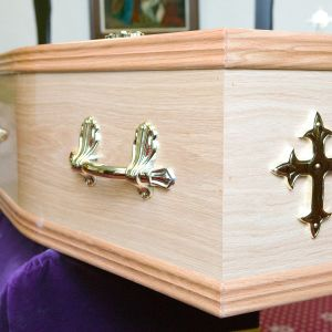 arkku krematoriossa