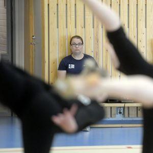 Teija Kukkala (vas.) ja Titta Heikkilä (oik.) Minetit