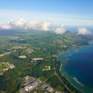 Ilmakuva Guamin saaresta.