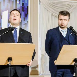 Jüri Ratas ja Urmas Reinsalu
