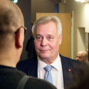 Antti Rinne Lapin käräjäoikeudessa 19. marraskuuta.