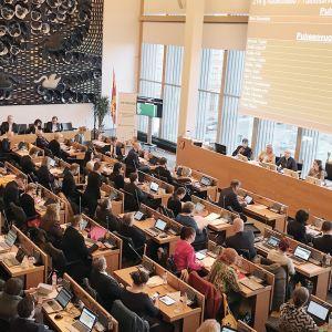 Tampereen valtuustonkokous