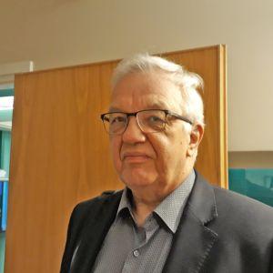 Kittilän entinen hallintojohtaja Esa Mäkinen.