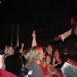 Rock-konsertti Tavastialla.
