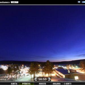 Enontekiön kaamoskamera – Polar Night Live