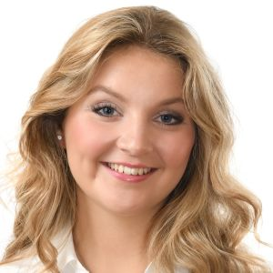 Elin Qvist on Suomen Lucia-neito 2018.