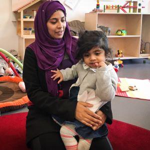 Mumtaz Fatima tuli Pakistanista Ruotsiin neljä vuotta sitten.