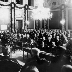Tampereen valtuusto juhlakokous