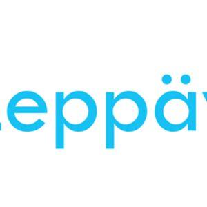 Leppävirran kunnan logokilpailun voittanut ehdotus. Annika Juutilaisen suunnittelema