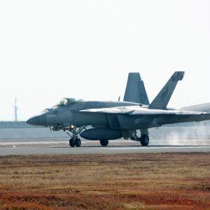 F/A-18 Hornet-hävittäjä