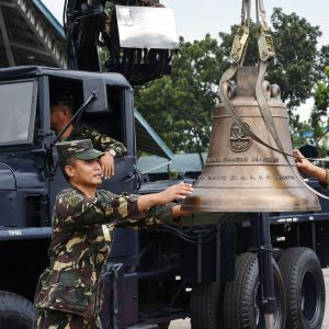 Yhdysvaltojen sotasaaliiksi ottamat kirkonkellot palautetaan Filippiineille