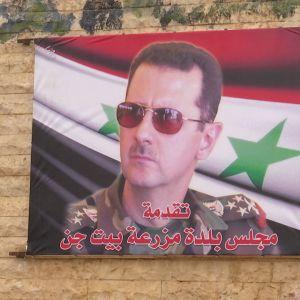 Tuima kuva presidentti Assadista