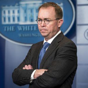 Valkoisen talon uusi kansliapäällikkö Mick Mulvaney