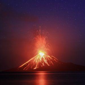 Krakatau-tulivuori