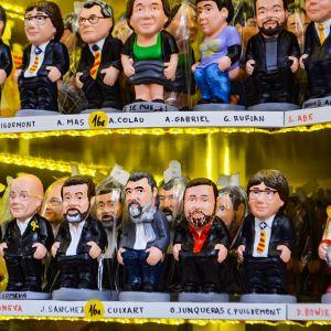 Espanjassa julkisuuden hahmot saavat jouluna kyytiä.