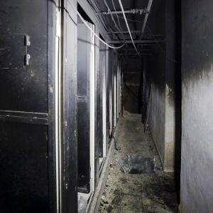 Al-Touban vankila Damaskoksen lähellä.