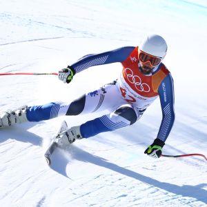 Andreas Romar Pyeongchangin olympialaisissa.