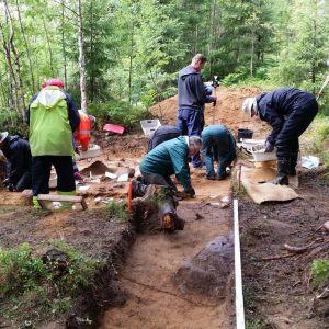 Arkeologisia kaivauksia