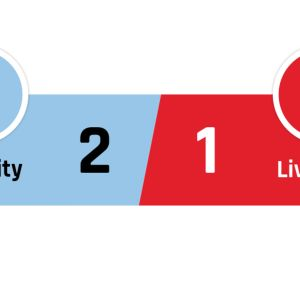Manchester City - Liverpool 2-1