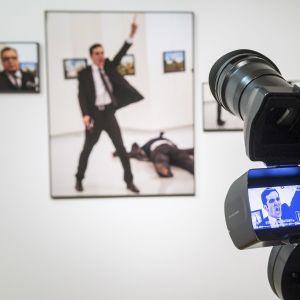 Kuva Venäjän suurlähettilään ampumisesta valittiin vuoden uutiskuvaksi vuonna 2017.