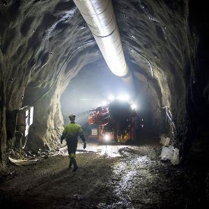 Dragon Mining Oy:n omistama Jokisivun kultakaivos Jokisivulla Huittisissa keskiviikkona 19. elokuuta 2015.
