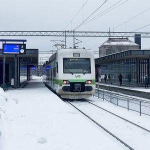 Lahden rautatieasema.
