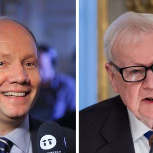 Peter Englund ja Kjell Espmark