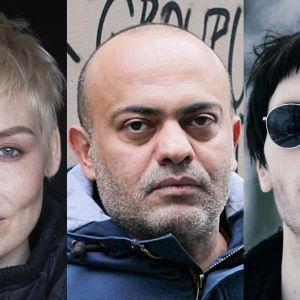 Laura Lindstedt, Hassan Blasim ja Miki Liukkonen