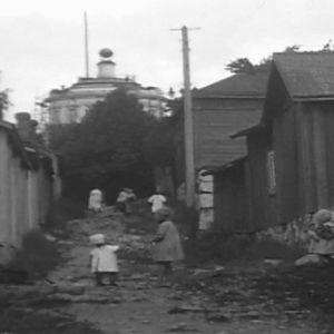Elämää Luostarinmäen kujalla 1923