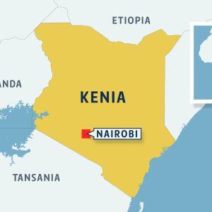 Kenia kartta