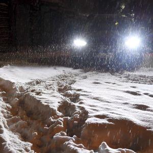 Lumiset ajoväylät-