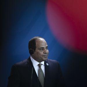 Egyptin presidentti Abdel Fattah al-Sisi.