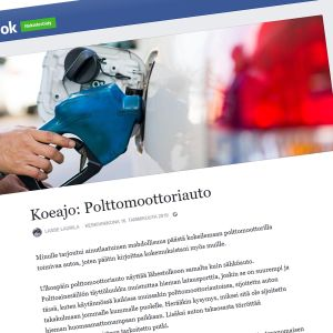 Lasse Laurilan Facebook-päivitys