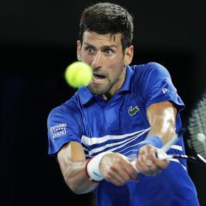 Novak Djokovic  tammikuussa 2019.